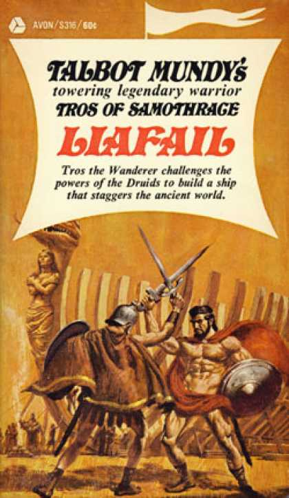 Avon Books - Liafail: The Third Book of Tros of Samothrace - Talbot Mundy