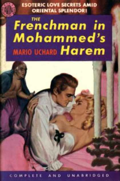 Avon Books - The Frenchman In Mohammed's Harem