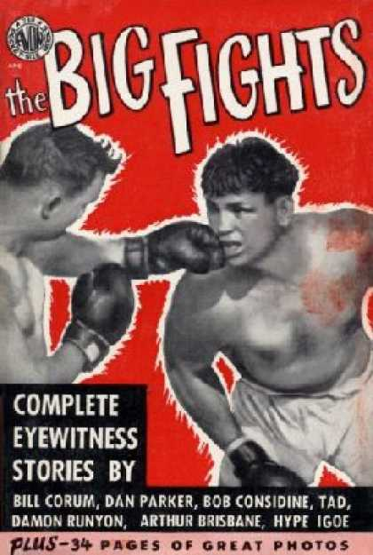 Avon Books - The Big Fights