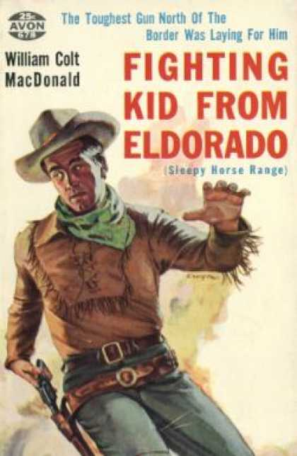 Avon Books - Fighting Kid From Eldorado - William Colt MacDonald