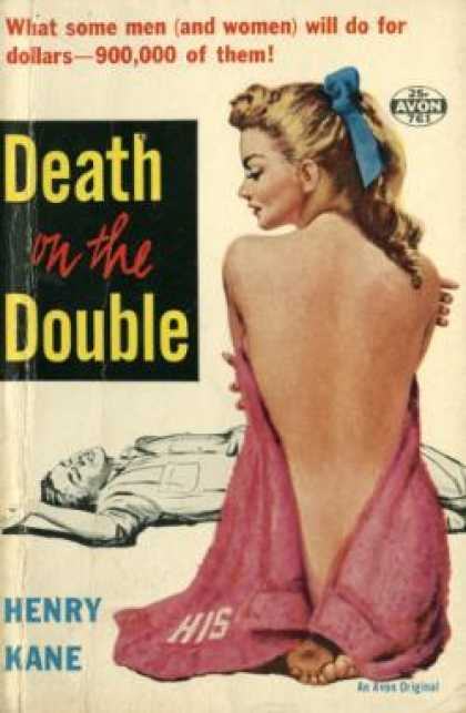 Avon Books - Death On the Double - Henry Kane
