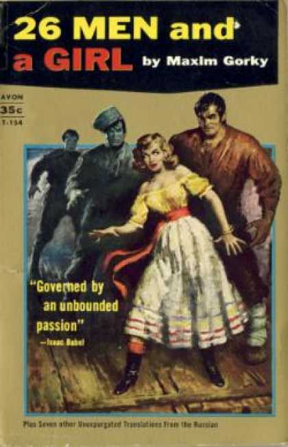 Avon Books - 26 Men and a Girl and Other Stories - Maxim Gorky