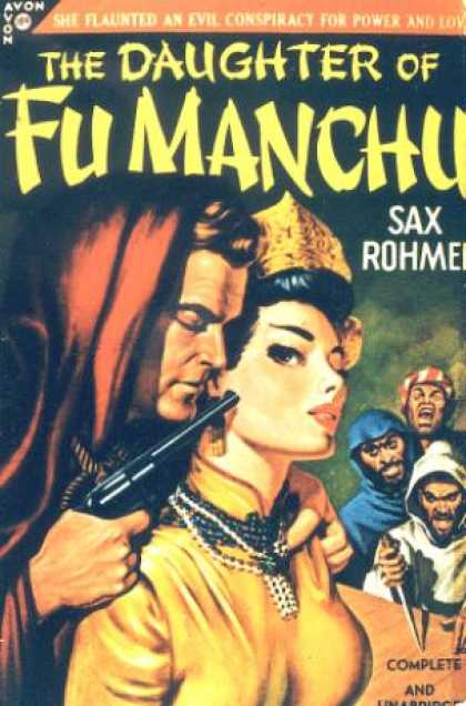 Avon Books - The Daughter of Fu Manchu - Sax Rohmer