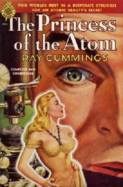 Avon Books - The Princess of the Atom - Ray Cummings