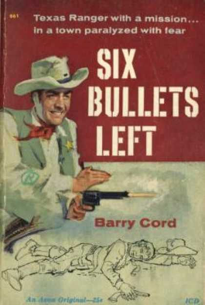 Avon Books - Six Bullets Left