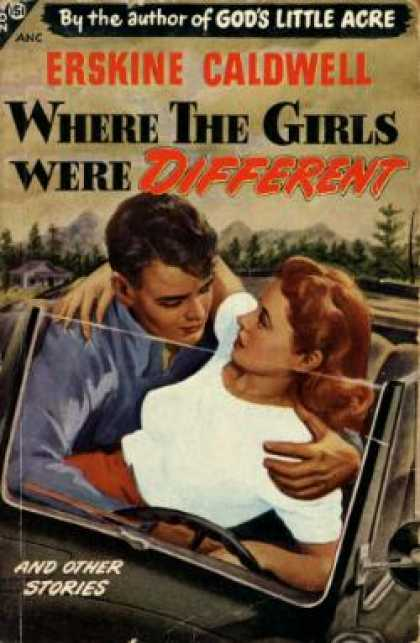 Avon Books - Where the Girls Were Different - Erskine Caldwell