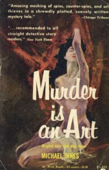 Avon Books - Murder Is an Art - Michael Innes