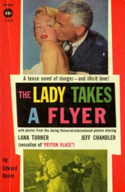 Avon Books - The Lady Takes a Flyer - Edward Ronns