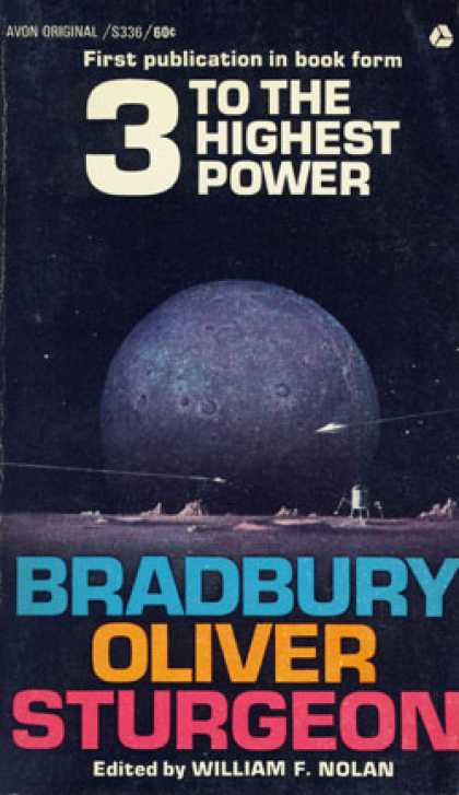 Avon Books - 3 To the Highest Power - Bradbury Oliver Sturgeon