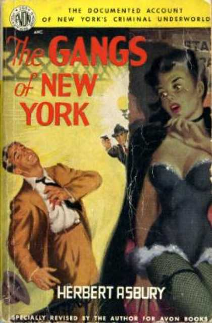 Avon Books - The Gangs of New York - Herbert Asbury