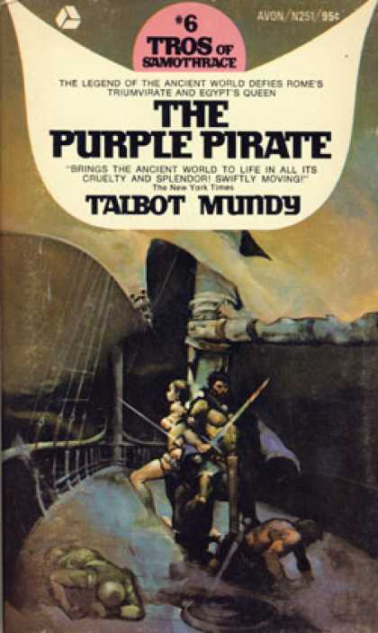 Avon Books - The Purple Pirate - Talbot Mundy