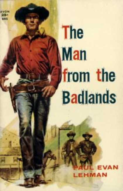 Avon Books - The Man from the Badlands - Paul Evan Lehman