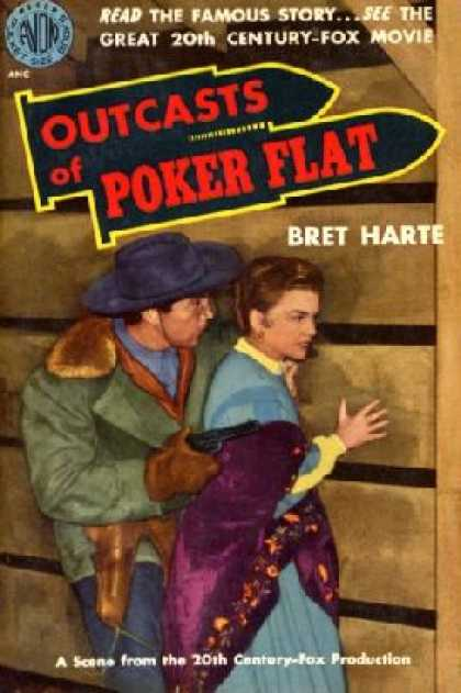 Avon Books - Outcasts of Poker Flat - Bret Harte