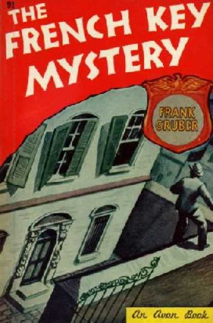 Avon Books - The French Key Mystery - Frank Gruber
