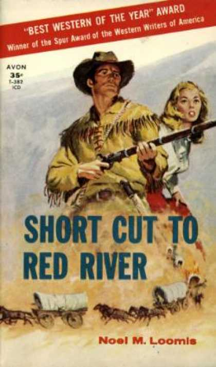 Avon Books - Short Cut to Red River - Noel M. Loomis