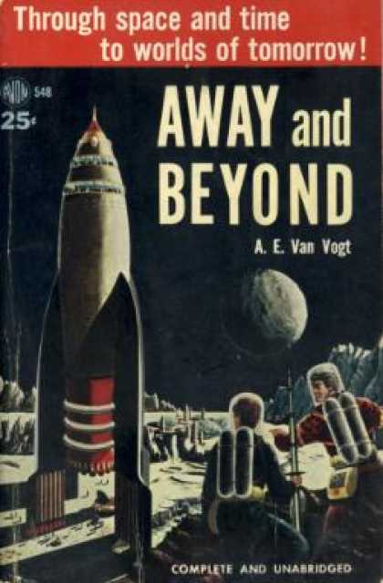 Avon Books - Away and Beyond - A. E. Van Vogt