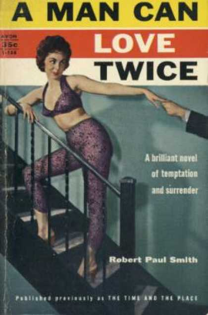 Avon Books - A Man Can Love Twice - Robert Paul Smith