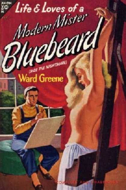 Avon Books - Life & Loves of a Modern Mister Bluebeard - Ward Greene