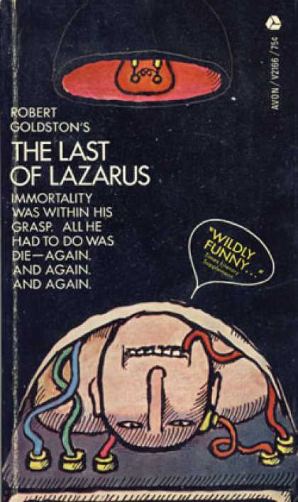 Avon Books - The Last of Lazarus - Robert Goldston