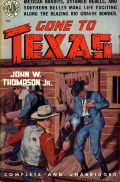 Avon Books - Gone To Texas - John W. Jr Thomason