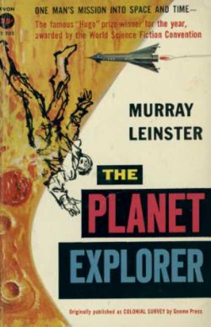 Avon Books - Planet Explorer - Murray Leinster