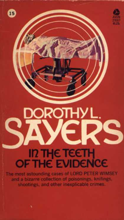 Avon Books - In the Teeth of the Evidence - Dorothy L. Sayers