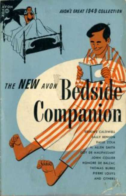 Avon Books - The New Avon Bedside Companion - various authors