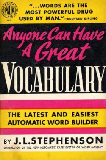 Avon Books - Anyone Can Have a Great Vocabulary