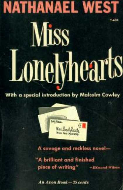 Avon Books - Miss Lonelyhearts - Nathanael West