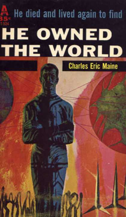 Avon Books - He Owned the World - Charles Eric Maine