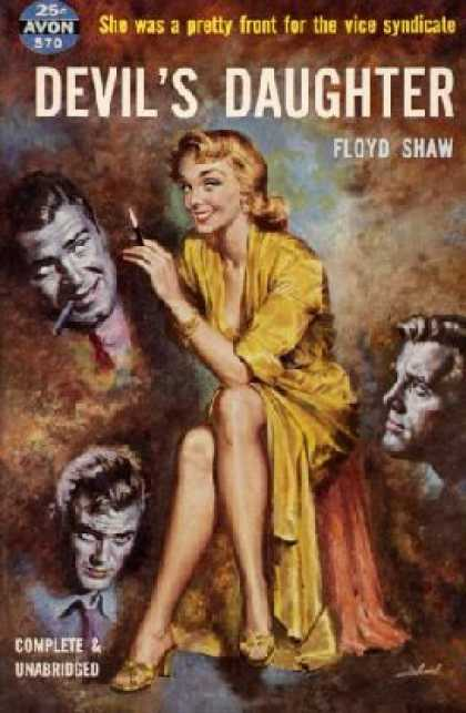 Avon Books - Devil's Daughter - Floyd Shaw