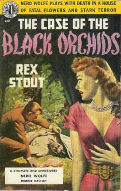 Avon Books - The Case of the Black Orchids : A Nero Wolfe Mystery - Rex Stout