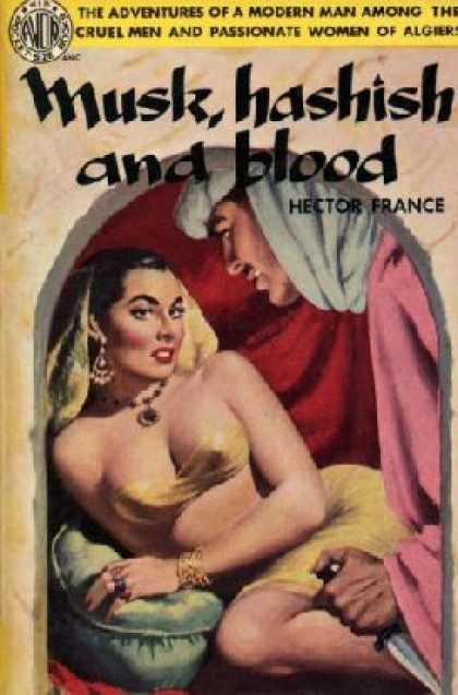 Avon Books - Musk, Hashish and Blood - Hector France