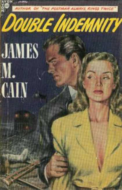 Avon Books - Double Indemnity - James M. Cain