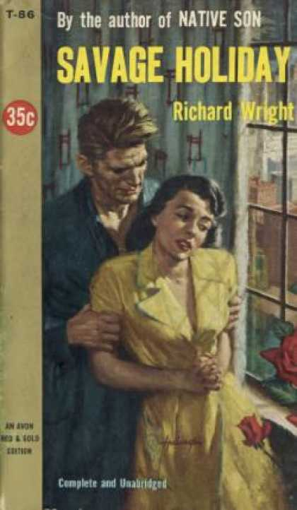 Avon Books - Savage Holiday - Richard Wright