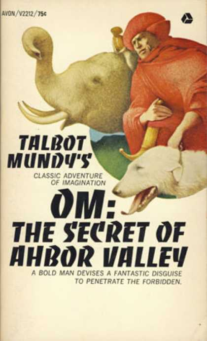 Avon Books - Om, the Secret of Ahbor Valley