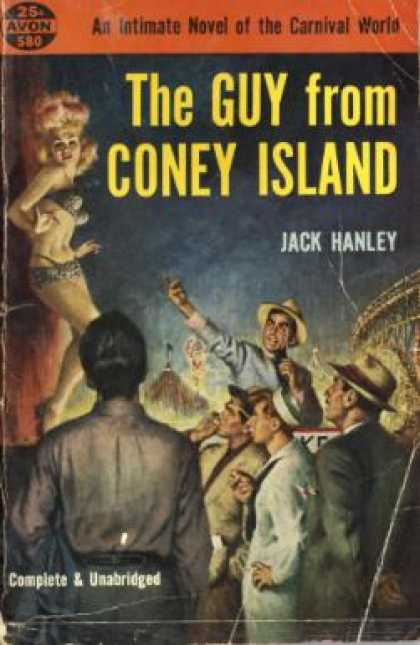 Avon Books - The guy from Connie Island - Jack Hanley