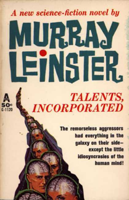 Avon Books - Talents, Incorporated - Murray Leinster