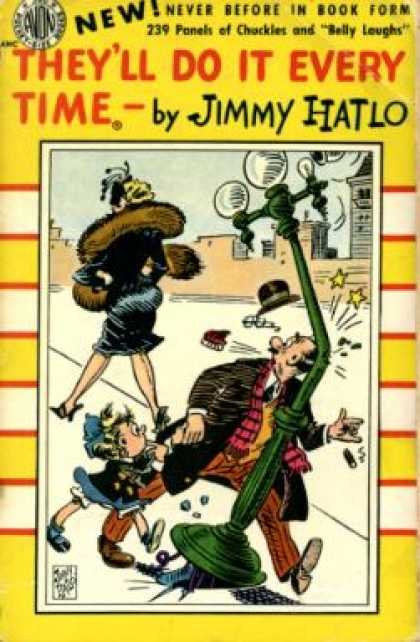 Avon Books - They'll Do It Every Time - Jimmy Hatlo