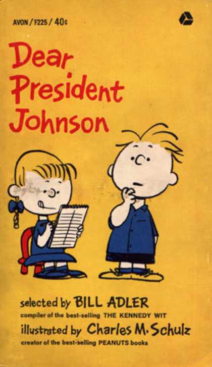 Avon Books - Dear President Johnson - Bill (ed) Adler