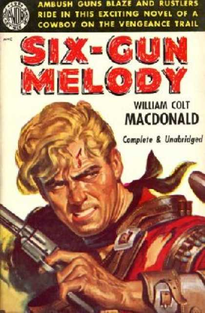 Avon Books - Six-gun Melody - William Colt Macdonald