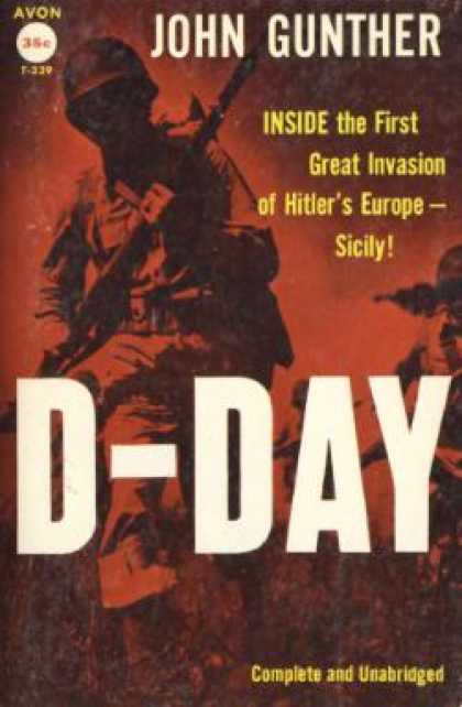 Avon Books - D Day - John Gunther