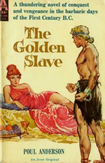 Avon Books - Golden Slave