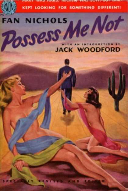 Avon Books - Possess Me Not - Fan Nichols