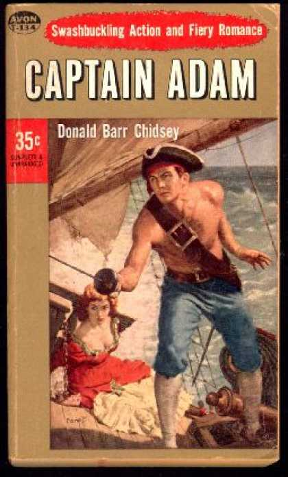 Avon Books - Captain Adam - Donald Barr Chidsey