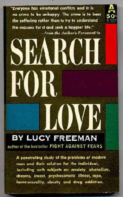 Avon Books - Search for Love - Lucy Freeman