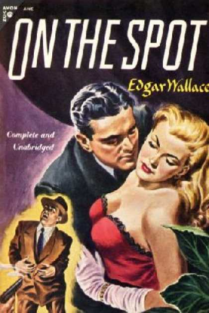 Avon Books - On the Spot - Edgar Wallace
