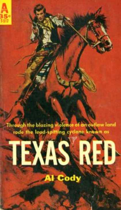Avon Books - Texas Red - Al Cody
