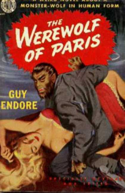Avon Books - The Werewolf of Paris - S. Guy Endore