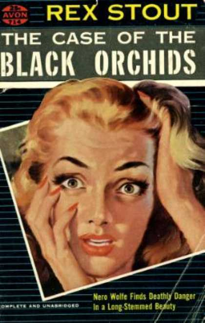 Avon Books - The Case of the Black Orchids - Rex Stout